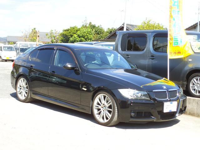 BMW 3シリーズ 335i Mスポーツパッケージ HDDナビ 本革 サンルーフ