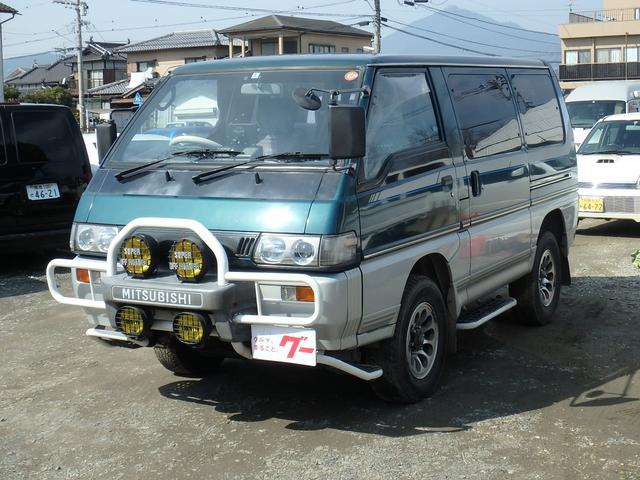 三菱 GLX ディーゼルターボ 4WD ワンセグTV 純正AW
