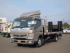 キャンター6速DUONIC 極東フラトップ積載車 最大積載2000kg