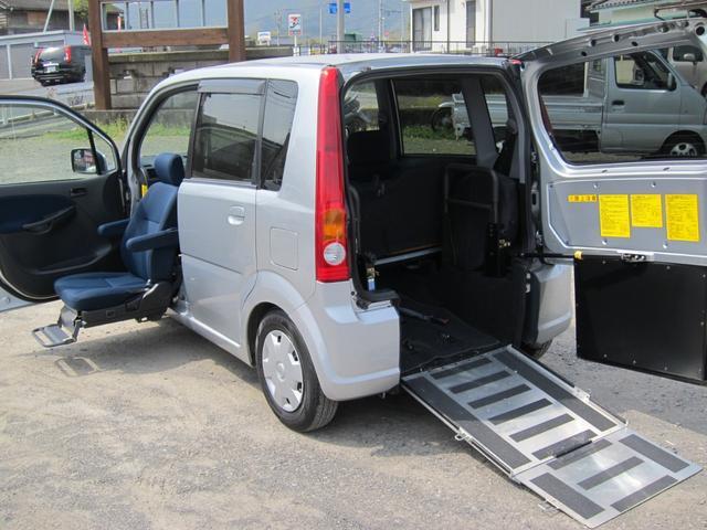 ダイハツ ニールダウン式スローパー 助手席電動回転シート