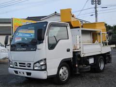 エルフトラック高所作業車 アイチ バケット200kg 8m