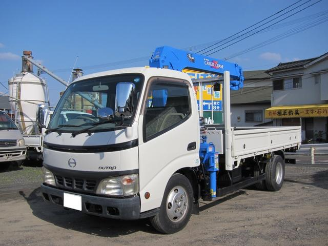 日野 タダノ3段フックイン 最大積載2t