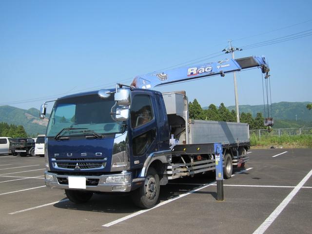 三菱ふそう タダノ4段ラジコン 積載6600kg ターボ270馬力