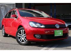 VW ゴルフヴァリアントTSI コンフォートライン 禁煙 ツインチャージャー