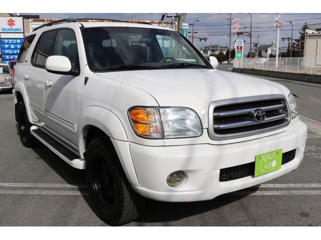 米国トヨタ セコイア リミテッド 4.7V8 4WD 1ナンバー登録 革シート