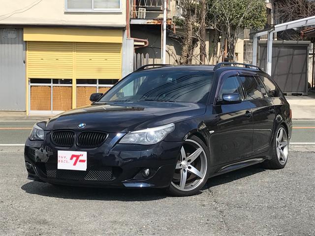 525iツーリング Mスポーツパッケージ グー鑑定車ナビTV