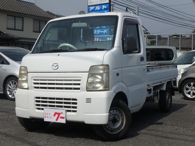 マツダ KC エアコンパワステ 2WD 荷台ゴムマット Wエアバッグ