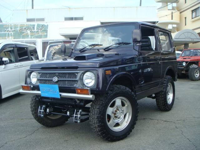 スズキ HC 4WD リフトUP 社外バンパー MTタイヤ 4WD
