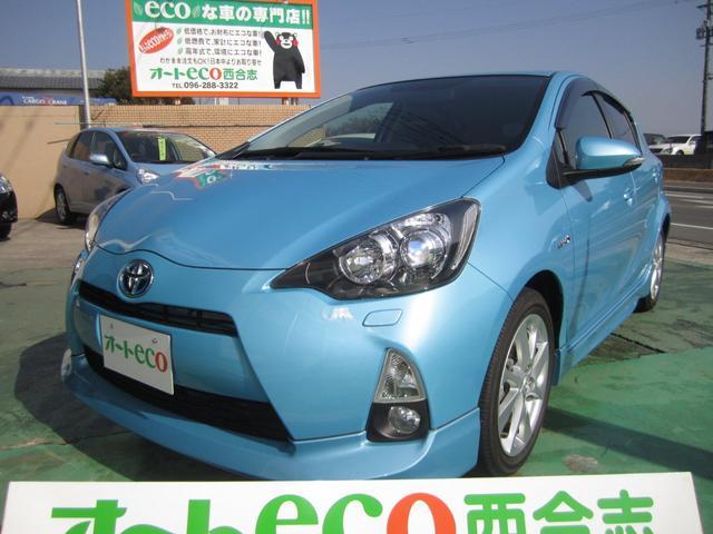 トヨタ G 禁煙車 LEDヘッドライト フルエアロ SDナビ テレビ