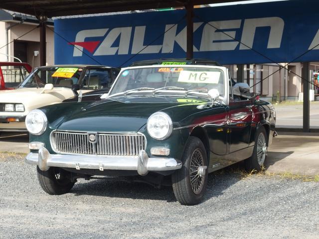MG オープンカー 4速マニュアル車 ETC