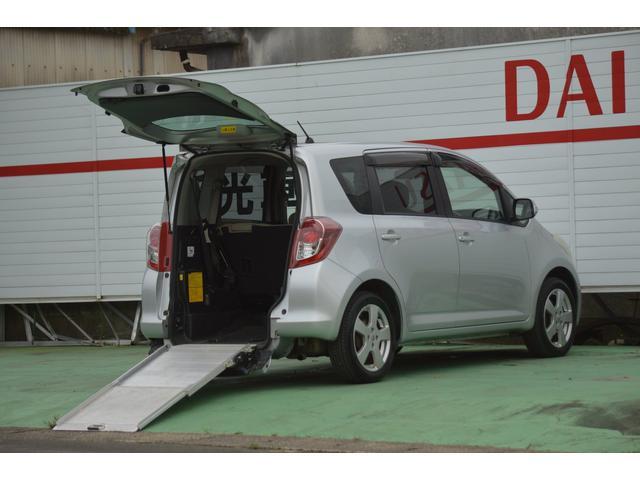 トヨタ スローパー リヤシート付き 福祉車輌