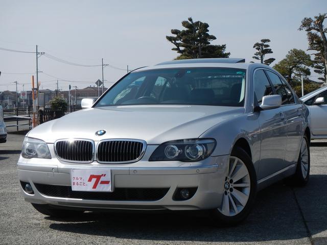 BMW 740i サンルーフ ナビTV 本革電動シート