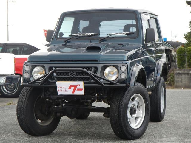 スズキ 4WD ターボ 5速MT 社外アルミ リフトアップ モモステ