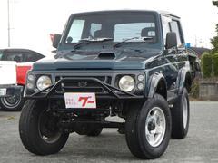 ジムニー4WD ターボ 5速MT 社外アルミ リフトアップ モモステ