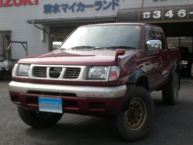 日産 ダブルキャブAX 4WD ディーゼル サンルーフ トノカバー