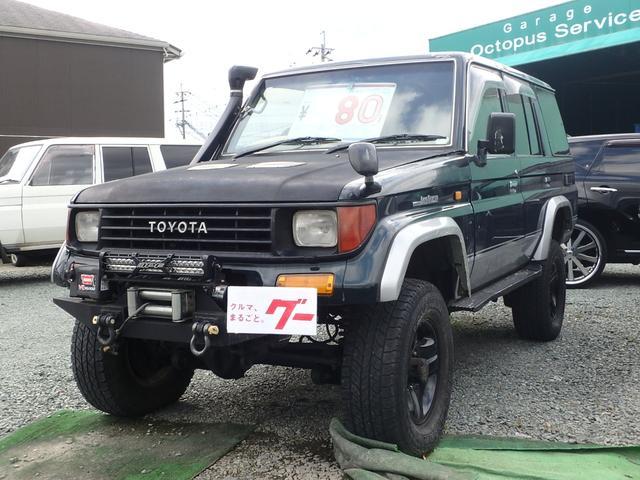 トヨタ SXワイド リフトアップ ウインチ シュノーケル