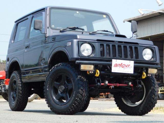 スズキ ジムニー HC 5速ミッション リフトUP MTタイヤ アルミホイール レカロシート マフラー