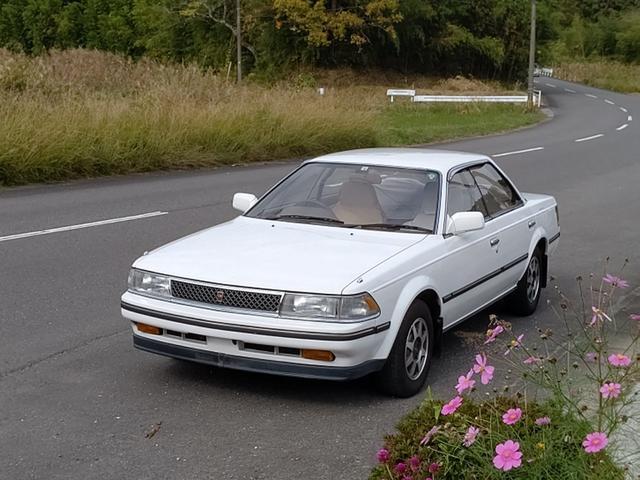 トヨタ X 1.8X EFI グロス115PS  1S-ELU AC PS PW 5速MT デジパネ