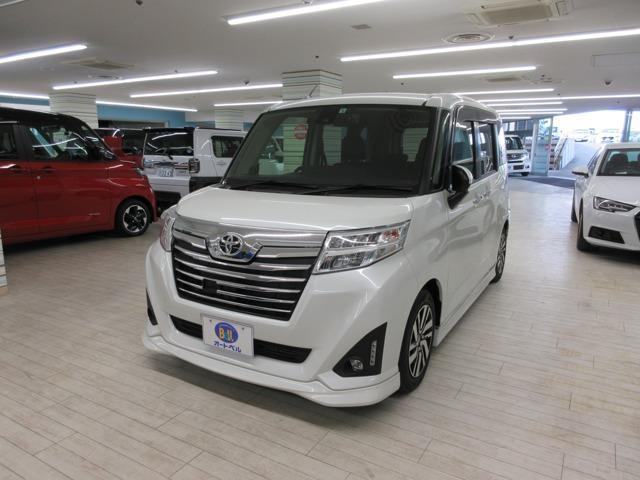 トヨタ ルーミー カスタムG S ナビ バックモニター LED 両側電動ドア アイドリングストップ リアソナー