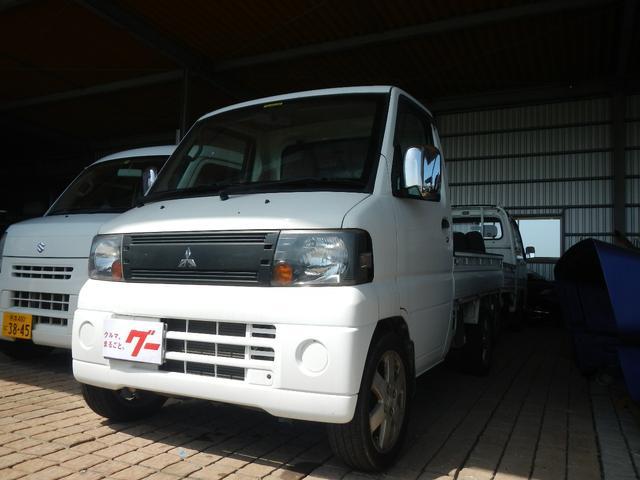 三菱 Vタイプ 4WD エアコン 5速ミッション