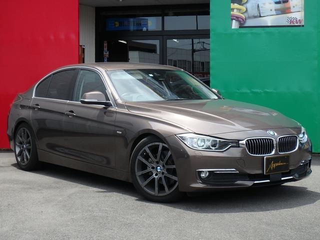 BMW 320d ラグジュアリー KONI-FSD レザーシート