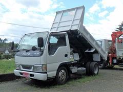 エルフトラックダンプ 全低床 5MT 2トン 塗装済
