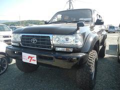 ランドクルーザー80VXリミテッド 4WD ナビ TV サンルーフ