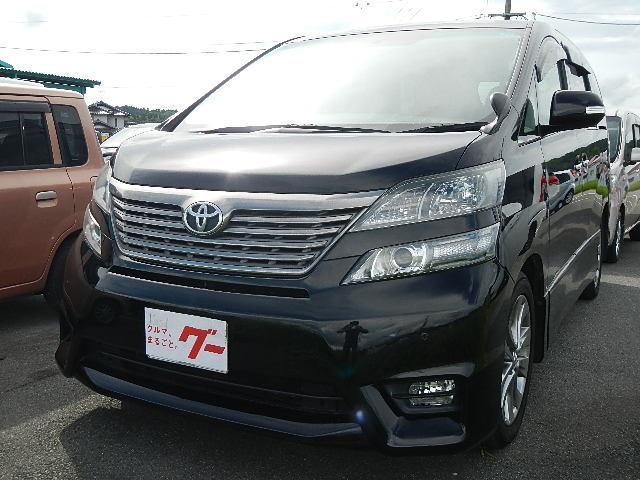 トヨタ 2.4Z プラチナセレクションII HDDナビ 両Pスライド