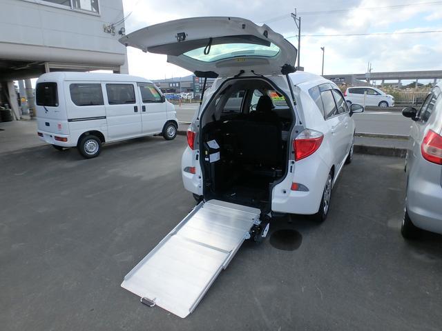 トヨタ G 福祉車両 車いすスロープ ナビTV バックモニター