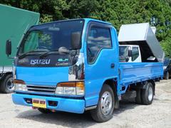 エルフトラック4WD 低床平ボデー 荷台床鉄板