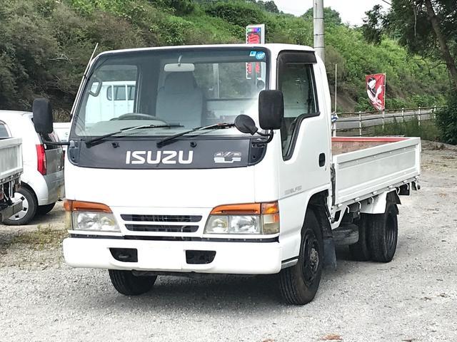 いすゞ 4WD 1.5t 平ボディ ディーゼル 5速マニュアル車