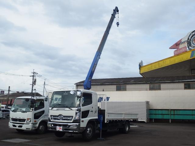 日野 タダノ5段クレーン 6速マニュアル車 ラジコン付き