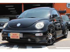 VW ニュービートル左ハンドル 黒革シート サンルーフ  キーレス