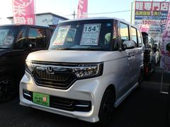 N BOXカスタムG・Lホンダセンシング 届出済未使用車 ETC