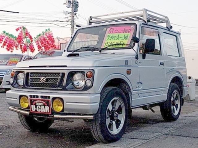 スズキ ランドベンチャー ターボ 5速MT 4WD PS エアコン