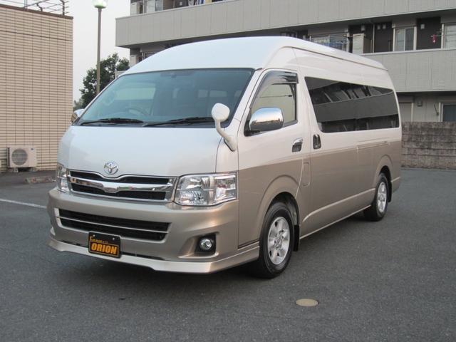 トヨタ ハイエ-ス 3.0ディ-ゼルタ-ボ キャンピング仕様 6名