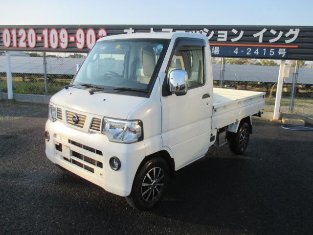 日産 DX農繁仕様 パワステ エアコン 4WD 新品タイヤ