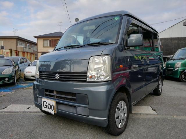 スズキ エブリイワゴン JP 4WD 5速マニュアル車 シートヒーター キーレス 電動格納ドアミラー 両側スライドドア 車検令和4年5月