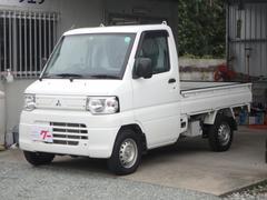 ミニキャブトラック5速MT 4WD ゴムマット 作業灯 AC PS エアバック