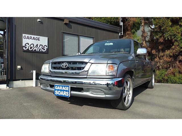 トヨタ ハイラックススポーツピック  ローダウン 18インチアルミ HDDナビ ETC ガソリン車 タコマ用リアステップバンパー