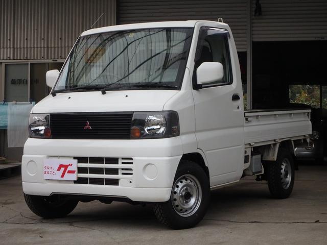 三菱 4WD 荷台作業灯 新品タイヤ エアコン パワステ