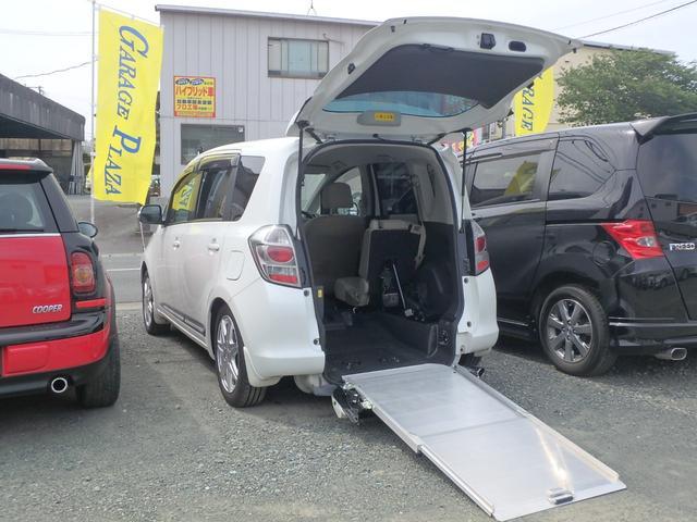 トヨタ G 車いすスローパー 車体昇降 メモリーナビTV ETC