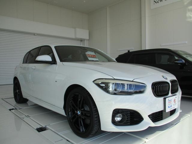 BMW 1シリーズ 118i Mスポーツ エディションシャドー アクティブクルーズコントロール コニャックレザーシート シートヒーター 純正HDDナビ 衝突被害軽減ブレーキ LEDヘッドライト ミュージックサーバ Bluetooth バックカメラ BCS認定保証