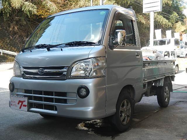 ダイハツ 5MT 4WD デフロック 荷台作業灯 基本フル装備 CD