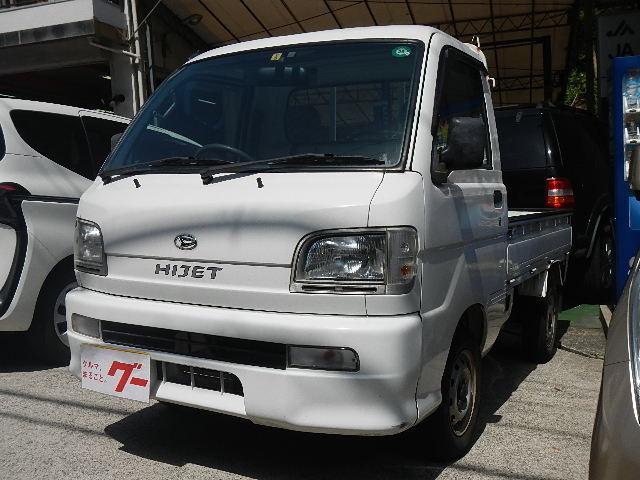 ダイハツ エアコン・パワステ・ETC・作業灯・5MT・4WD