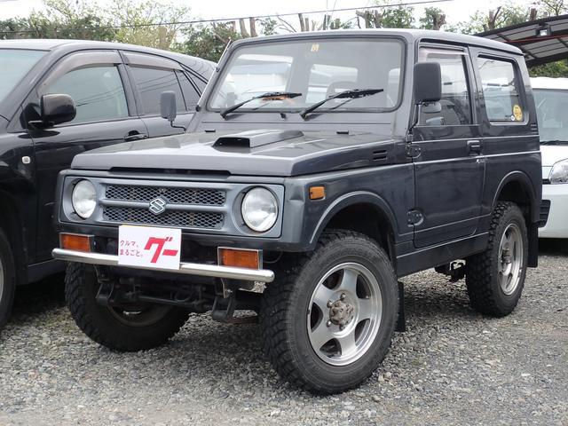スズキ 4WD ターボ 5速マニュアル MTタイヤ 社外マフラー