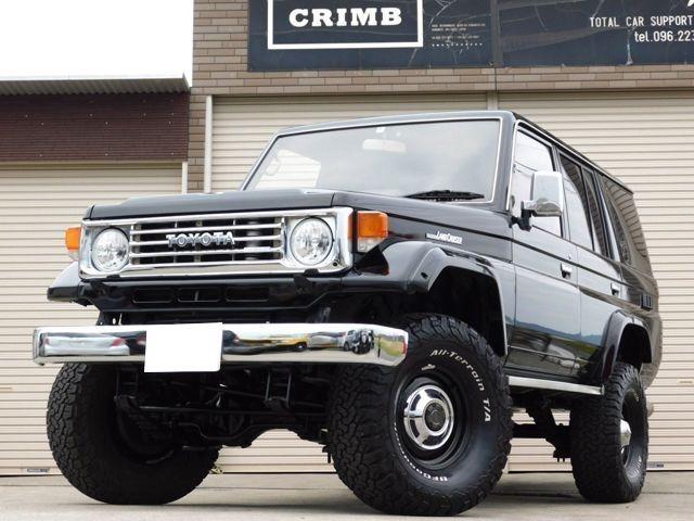 「トヨタ」「ランドクルーザー70」「SUV・クロカン」「熊本県」の中古車