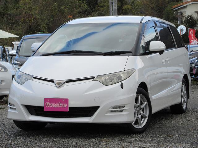 「トヨタ」「エスティマ」「ミニバン・ワンボックス」「熊本県」の中古車