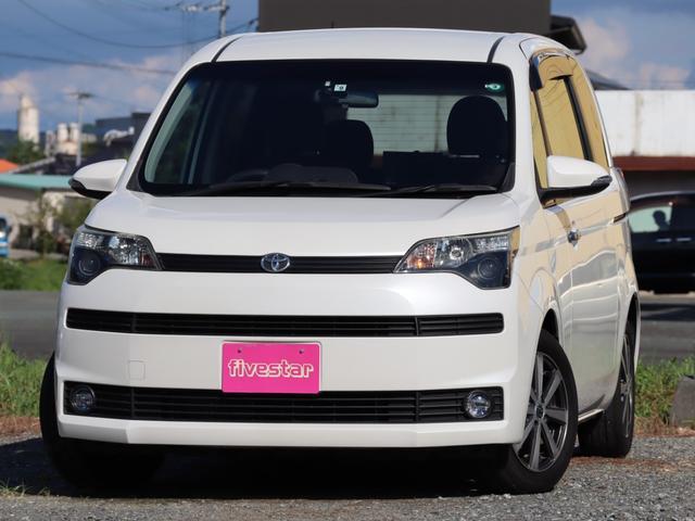 トヨタ スペイド G パワースライドドア HDDナビ フルセグ リアモニター Bluetooth ETC バックカメラ スマートキー プッシュスタート ディスチャージ タイミングチェーン