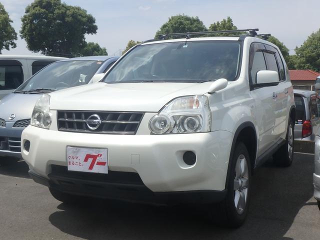 日産 20X 4WD サンルーフ 可プロんシート HDDナビTV